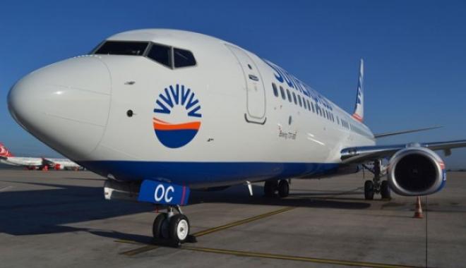 SunExpress 2017'nin İlk Uçağını Teslim Aldı