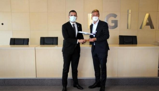 SunExpress Ceo'su Dr. Max Kownatzki EGİAD'ı ziyaret etti