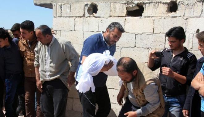 Suriye Uçakları İdlip'i Bombaladı, 9 Çocuk Öldü