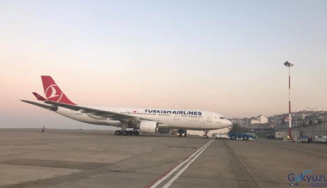 Tahran'da bekleyen THY uçağı Türkiye'ye döndü
