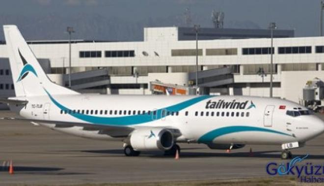 Tailwind Havayolları'na Gazipaşa'ya uçuş izni verildi.
