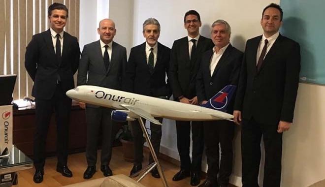 TALPA yönetimi Onur Air'i ziyaret etti