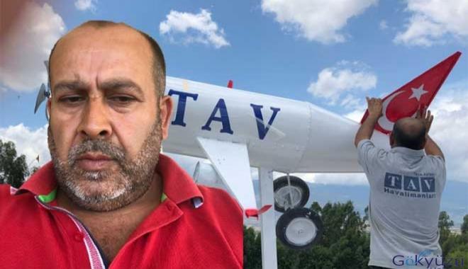 TAV eski personeli evin çatısına uçak yaptırdı!