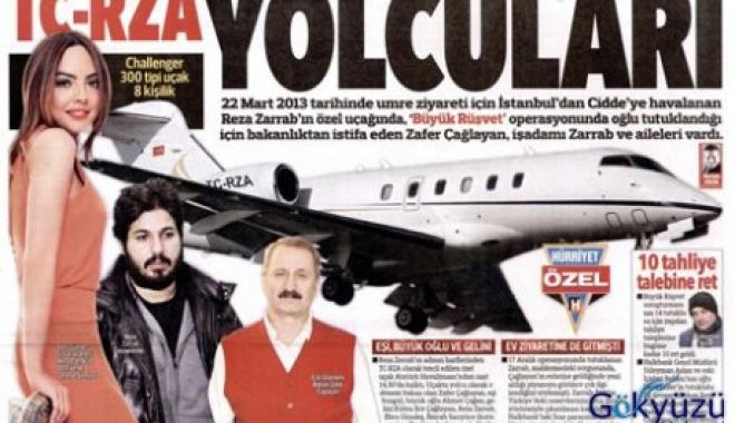 Zarrab'ın Özel Uçağı 'TC-ZRA' İle Umre Ziyareti!