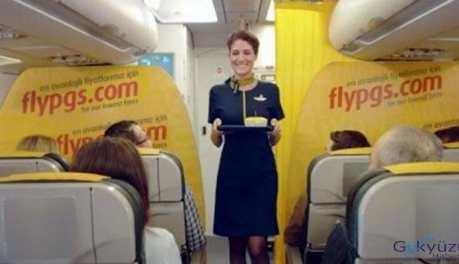 Pegasus Havayolları tecrübesiz hostesler arıyor!