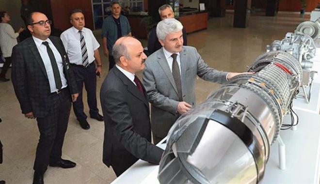 TEI uçak motor üretim teknolojilerini ileri taşıyor