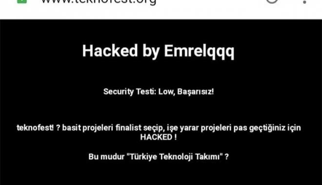 TEKNOFEST hacklendi!