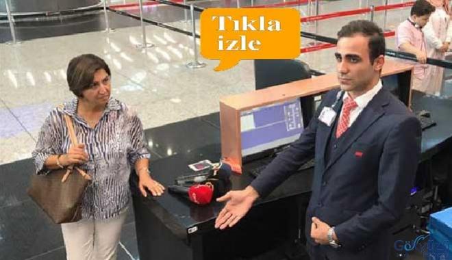 TGS personeli depremde koruduğu yolcu ile buluştu!