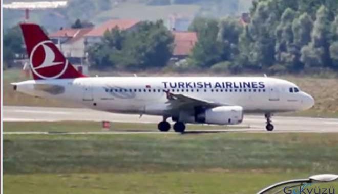 THY İstanbul uçağı geldi, yolcu sayıları yükselişte