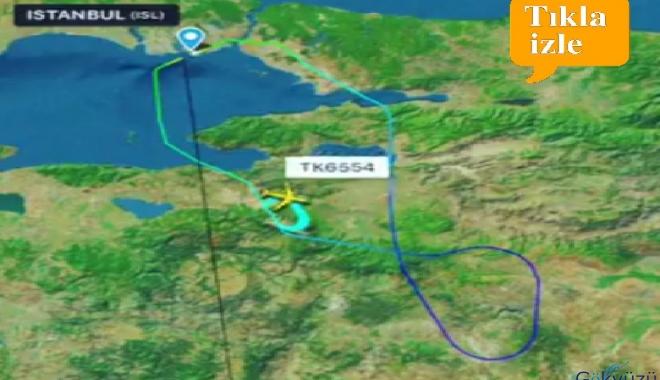 THY kargo uçağı üç saat havada tur attı!
