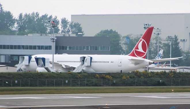 THY'nin ilk Boeing 787-9 uçağı gün yüzüne çıktı