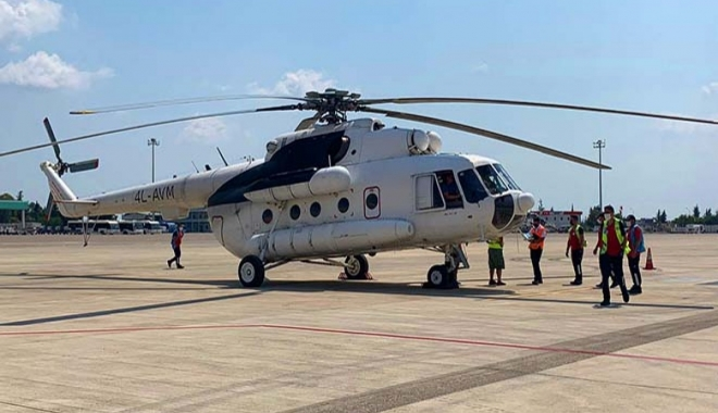 video#THY yangınlarla mücadele için iki helikopter kiraladı