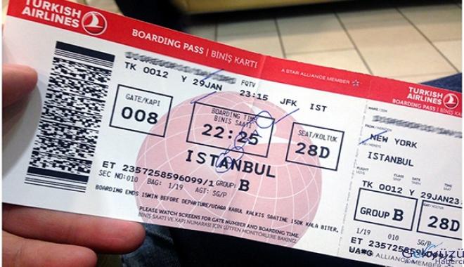 THY pas bilet sistemini aktif etti