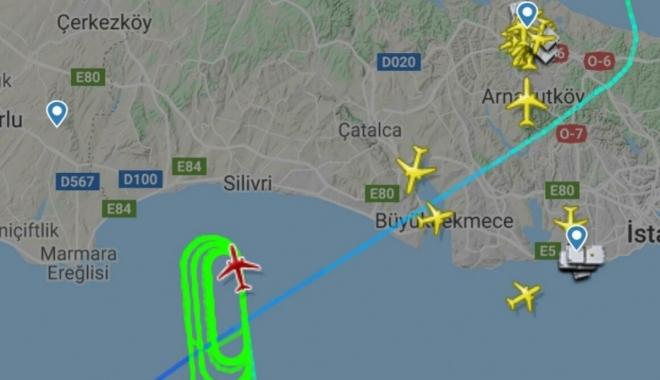 THY Pilotu İstanbul'a geri dönme kararı aldı
