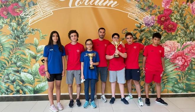 Thy Spor Kulübü satranç takımın namağlup şampiyon oldu