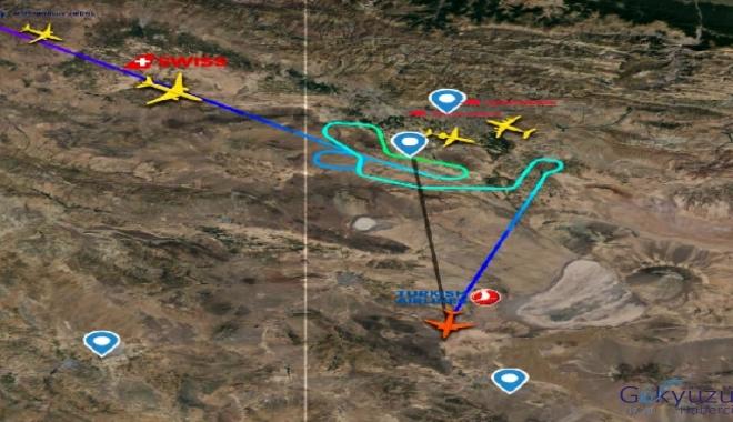 THY Uçağı İsfahan'a (IFN) divert (yönelme) etti