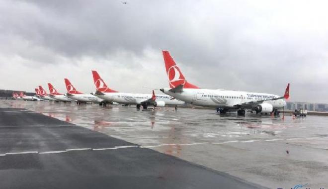 THY , Boeing 737 MAX tipi Uçakları 3.Havalimanı'nda !