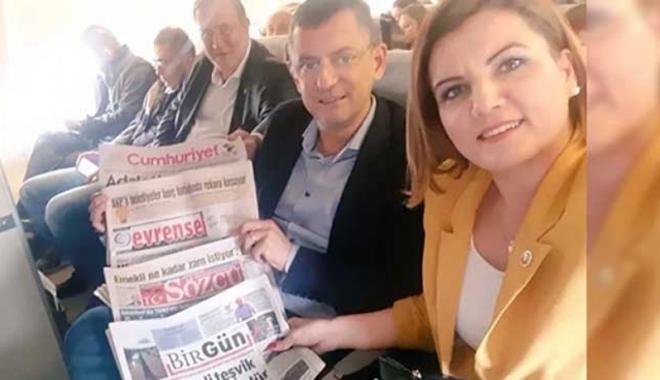 THY'ye alınmayan gazeteler Meclis'te tartışma yarattı