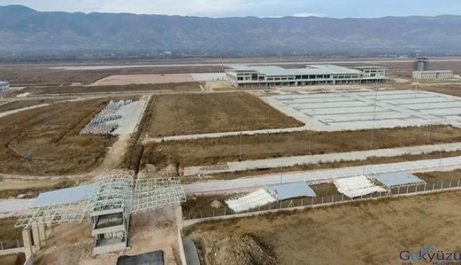 Tokat'ta yeni havalimanı inşaatının yüzde 85'i tamamlandı