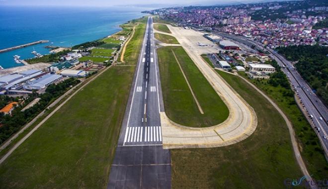 Trabzon Havalimanı belirli saatlerde uçuşa kapatılıyor