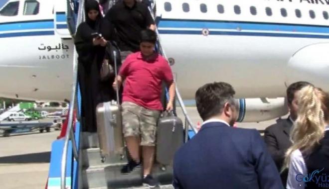 Trabzon'a inen yabancı uçak sayısında artış