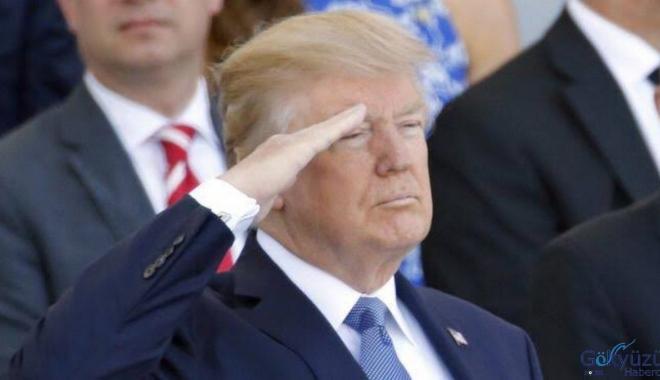 Trump'tan Asker selamı geri çekilin