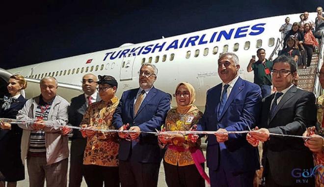 Türk Hava Yolları Bali'yi uçuş ağına ekledi