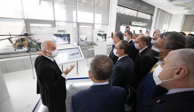 Türk Havacılık ve Uzay Sanayii ziyaret