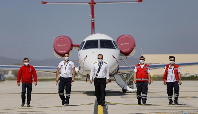 Türk sağlık sisteminin havadaki kahramanları