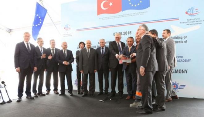 Türk Sivil Havacılık Akademisi'nin Temeli Atıldı