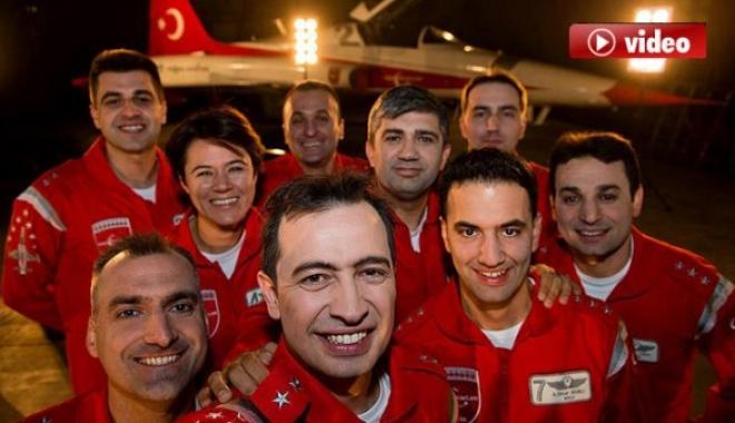 Türk Yıldızları Bu Kez Şırnak Şehitleri İçin...video