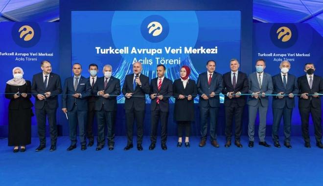Turkcell Avrupa Veri Merkezi açıldı #video