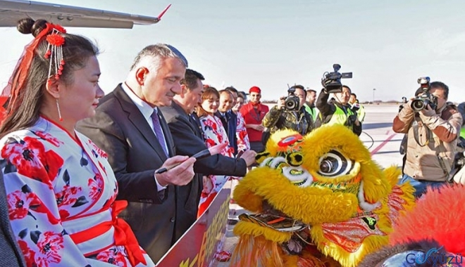 Turkish Airlines started flights to Istanbul-Xi'an