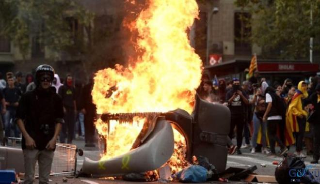 Türkiye'den Katalonya'ya seyahat uyarısı