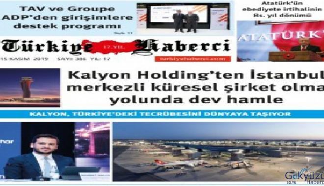 Türkiye Haberci Gazetesi KASIM Sayısı Çıktı!