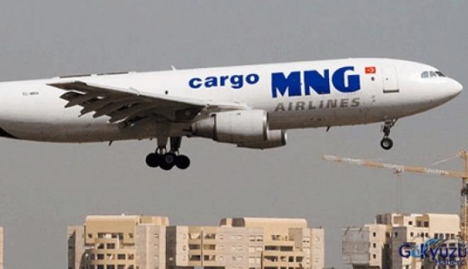 MNG Uçağın Hidrolik Hortumu Patladı