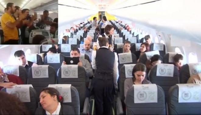Pegasus yolcuları Uçak İçerisinde Bir Saat 40 Dakika Beklediler