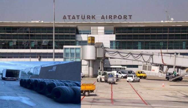 Uçak lastikleri arasında kaçak göçmen yakalandı