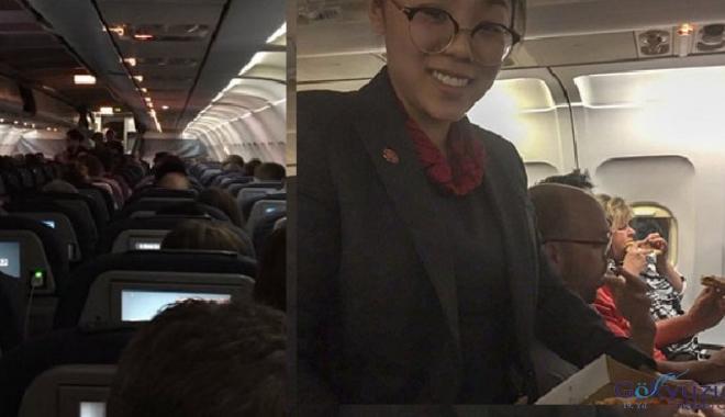 kaptan pilot yolculara pizza ısmarladı