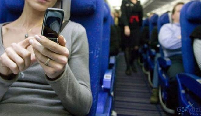 Uçaklarda telefon kapatmayana 2603 lira para cezası!