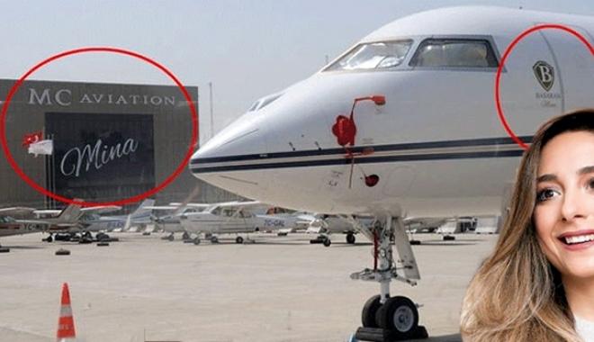 Uçakta ve hangarda 'Mina'nın adı yaşayacak