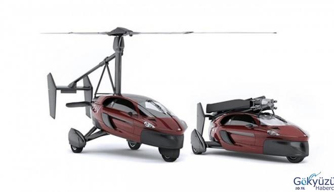 Uçan araba 599 bin dolara satılacak