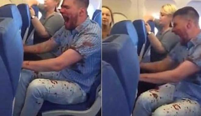 Uçmaktan Korkan Yolcu Korku Dolu Bir Uçuş Yaşadı