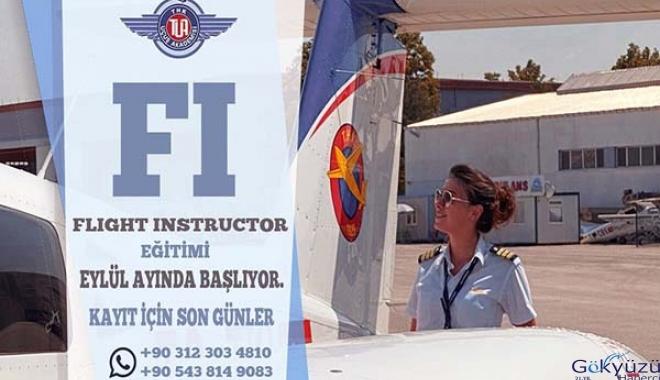 Uçuş Öğretmenliği eğitimi kayıtları devam ediyor