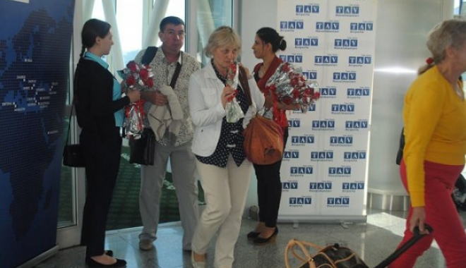 Ukrayna'dan Charter Uçuşları Başladı