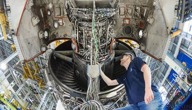 UltraFan,Trent motoruna göre yüzde 25 yakıt tasarrufu