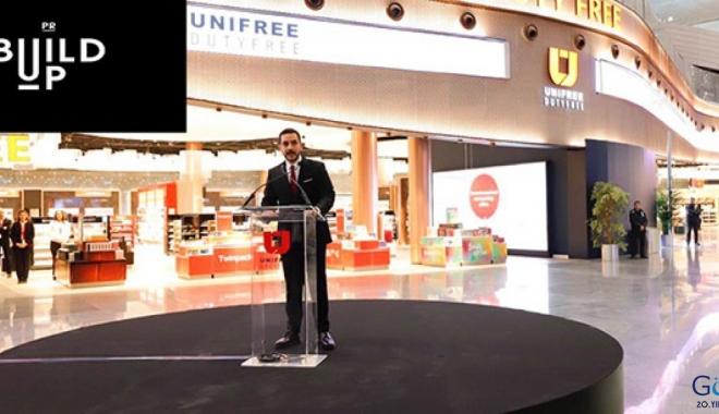 Unifree Dutyfree'nin iletişim ortağı ' Build Up PR' oldu
