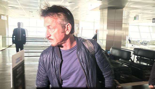 Ünlü yönetmen Sean Penn İstanbul'dan ayrıldı