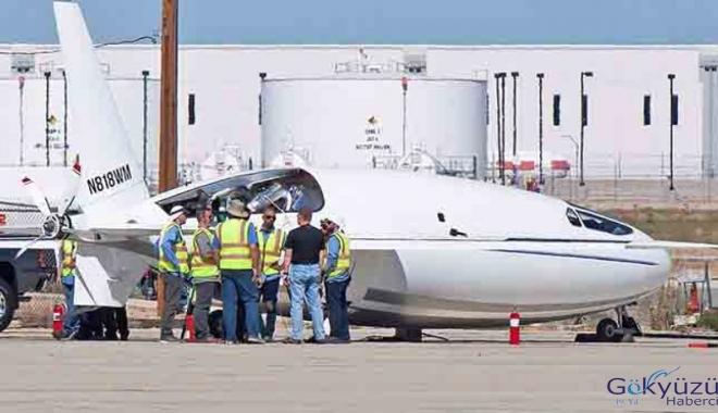 Üretimi saklanan mermi şeklinde uçak!