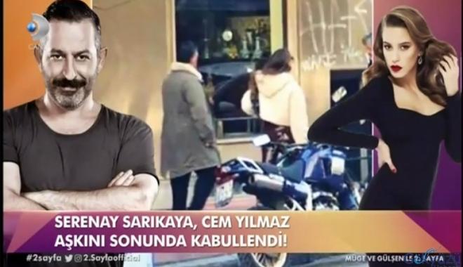 video Cem Yılmaz'dan Serenay Sarıkaya'ya kırmızı gül